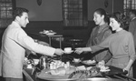 19 - Estabrook cafeteria lin, 1950s