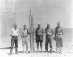 20 - Goddard group working on September 1931 flight in Roswell, NM