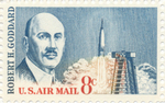 24 - Robert Goddard stamp