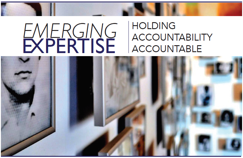 2017 -- Emerging Expertise: Holding Accountability Accountable
